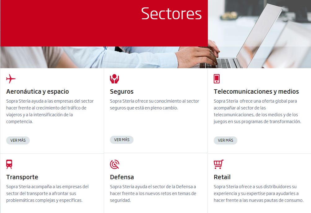 Job offers in Sopra Steria - Tecnoempleo.com