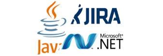 Logos Jira, Java y .NET